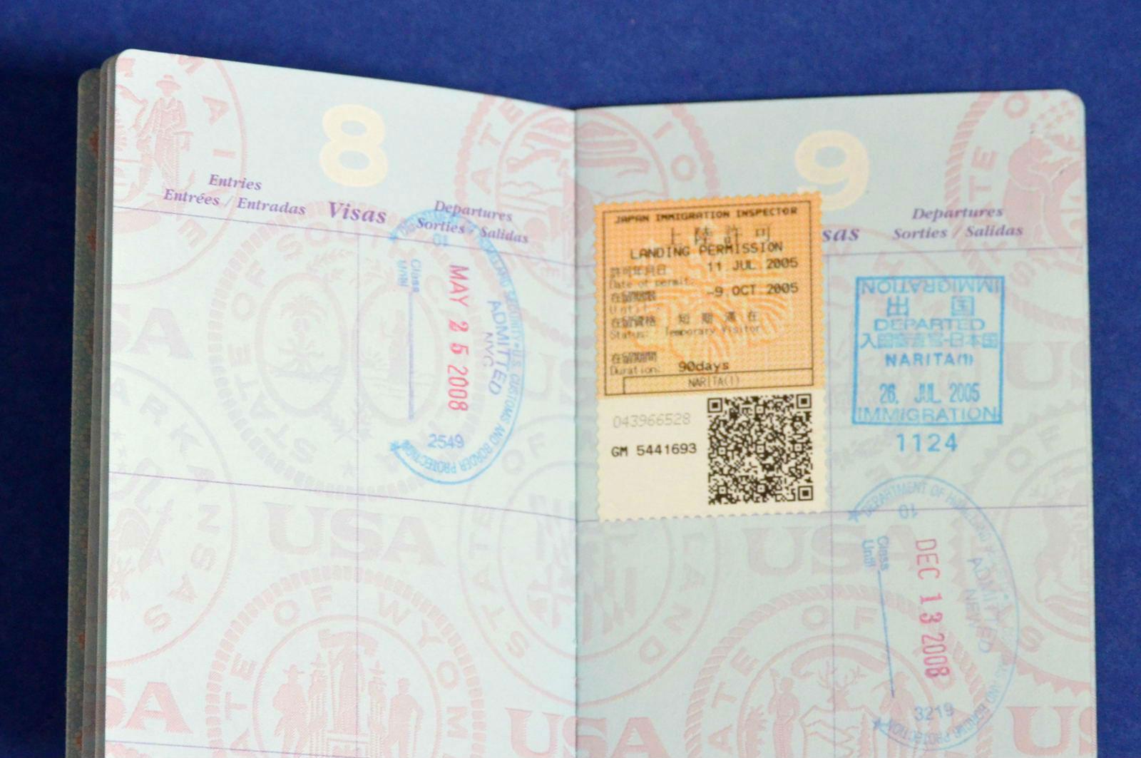 在留資格認定証明書のイメージ